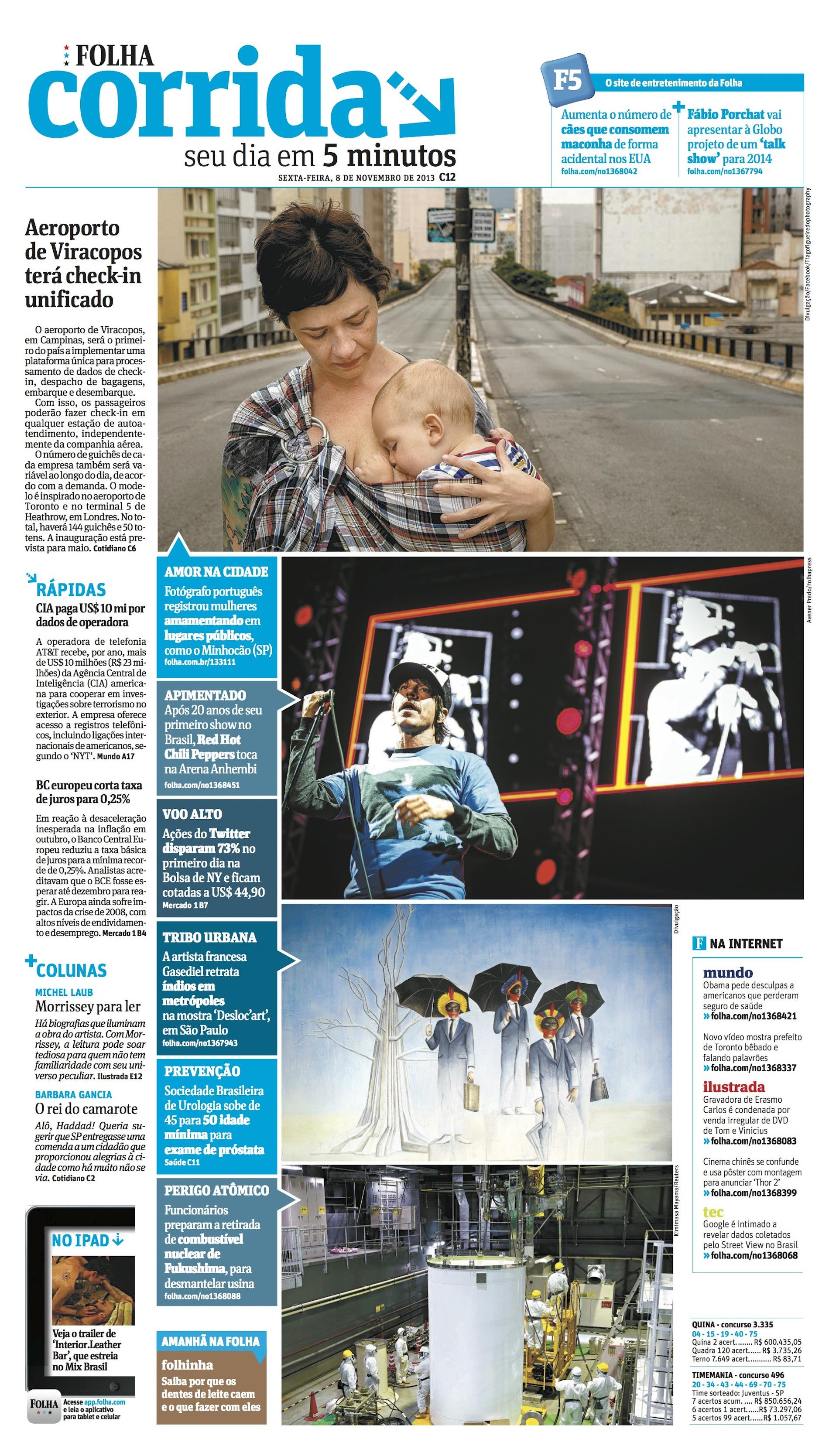 Loove na Folha de São Paulo